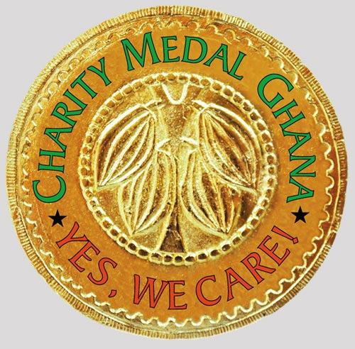 Charity Medal Ghana - Picture of the Medal