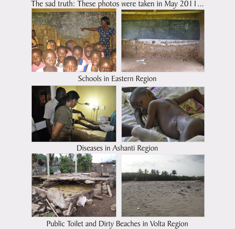 Sad truth about the conditions in Ghana