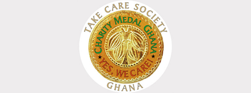 Take Care Society - Charity Medal Ghana